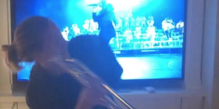 Watch: Adele Dances to Beyoncé's Coachella Set in Sweatpants