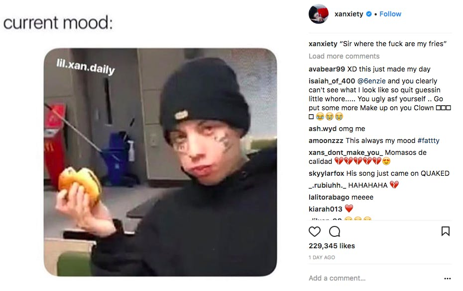 how old is lil xan