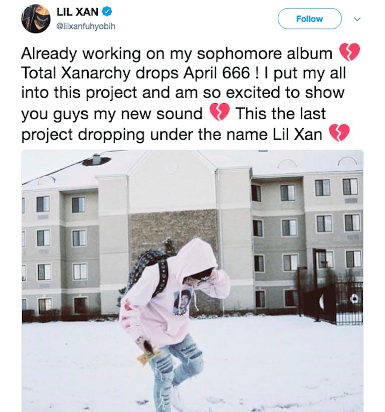 lil xan twitter