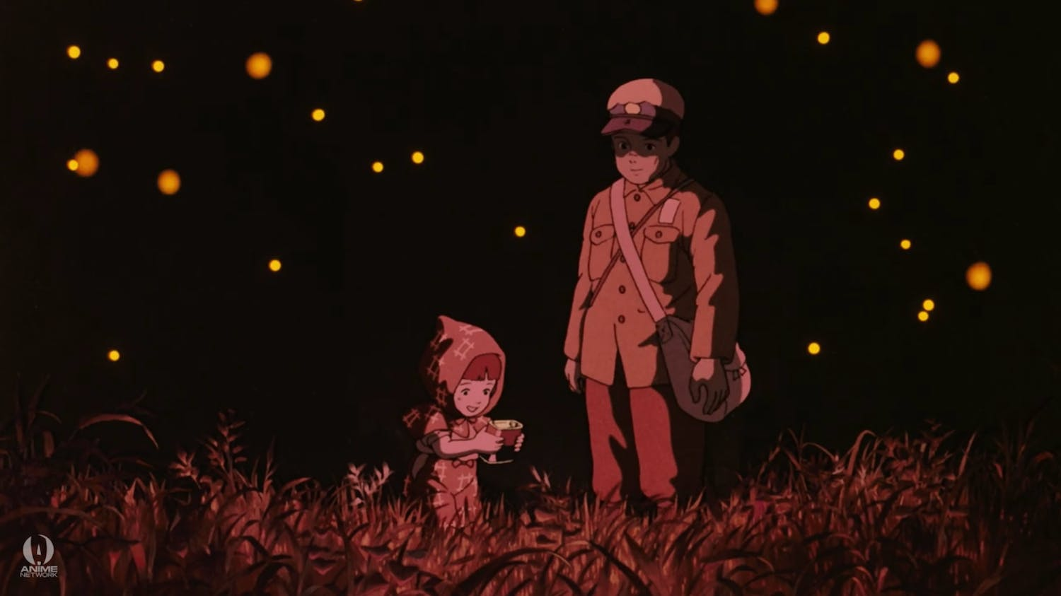 best anime movies : grave of the fireflies