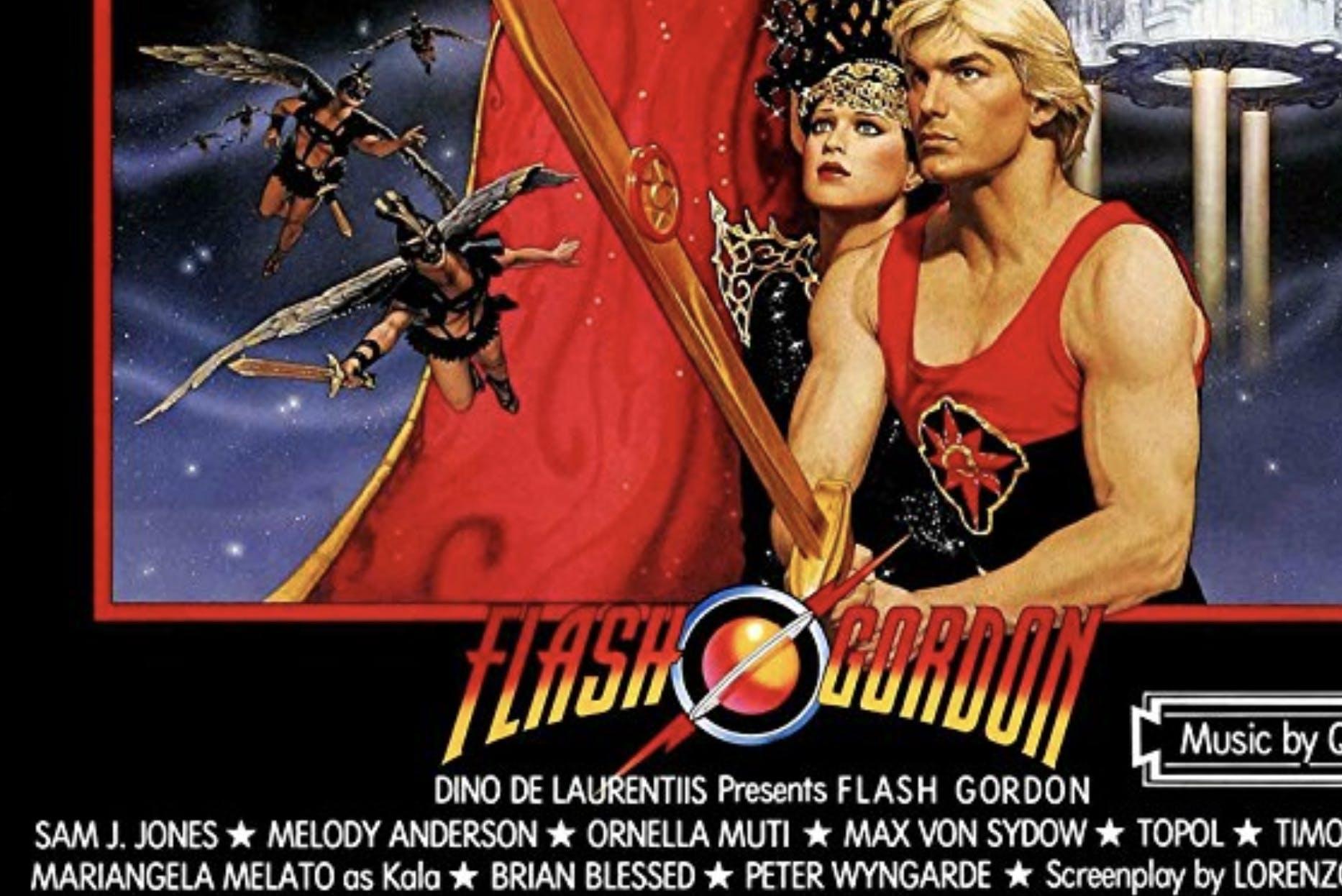 cowboy bebop : Flash Gordon poster