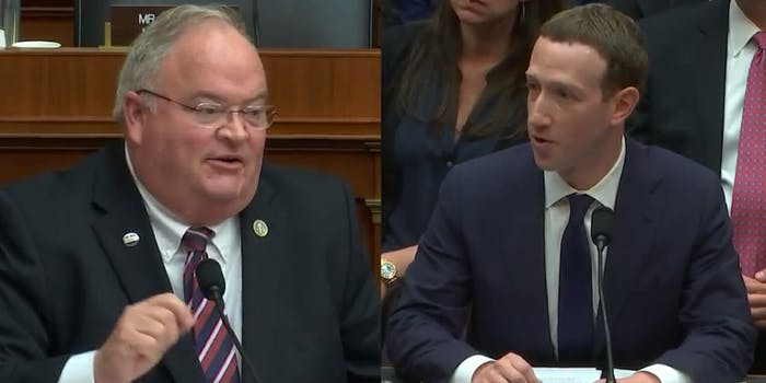 Facebook CEO Mark Zuckeberg was asked about something he'd probably like people to forget during his testimony on Wednesday in front of Congress: FaceMash.