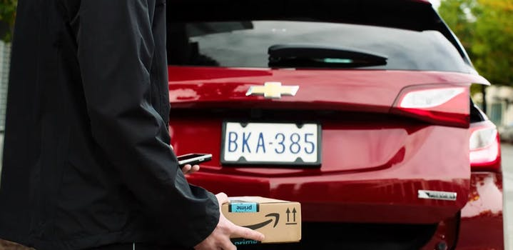 amazon key in-car delivery