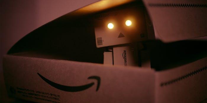 amazon robot in box