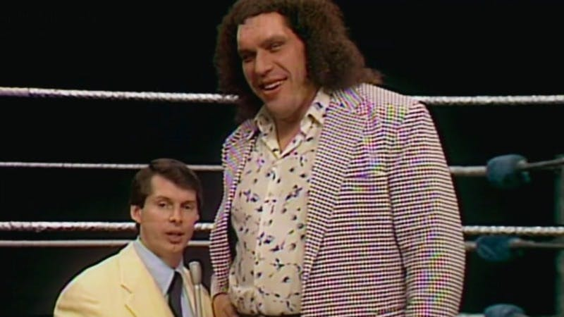 Andre the Giant Vince McMahon