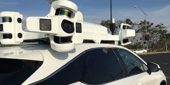 apple self-driving autonomous car