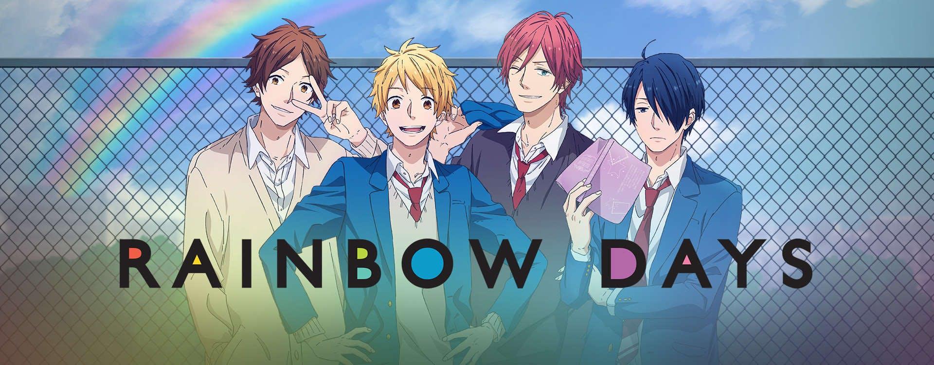best romance anime : rainbow days