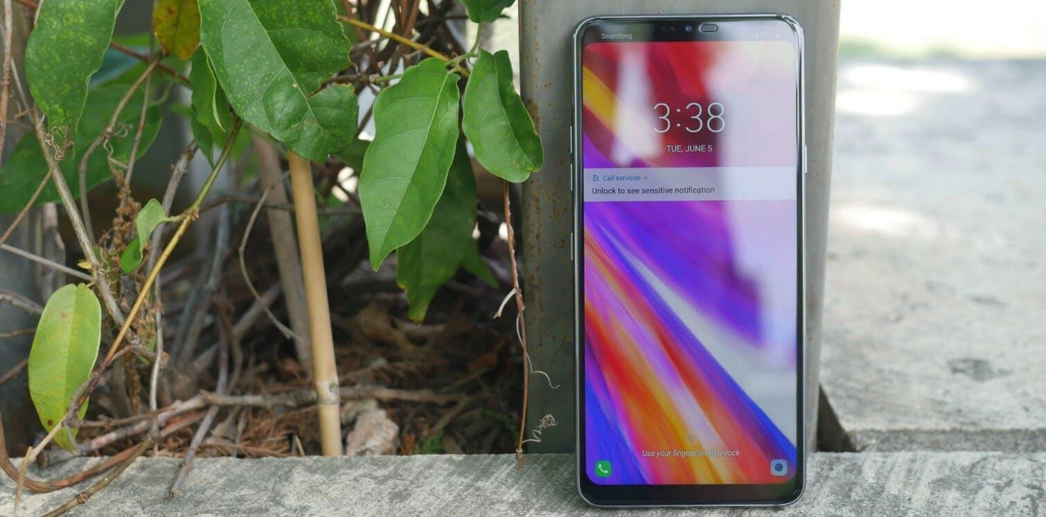 best smartphones 2018 - lg g7
