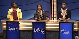 Black Jeopardy Black Panther SNL