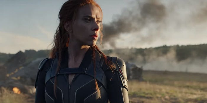 black widow movie trailer
