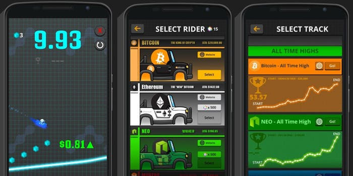Crypto Rider screen shots