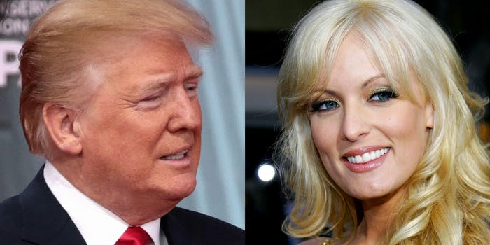 donald trump and stormy daniels