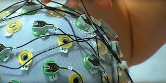 eeg brain wave scan