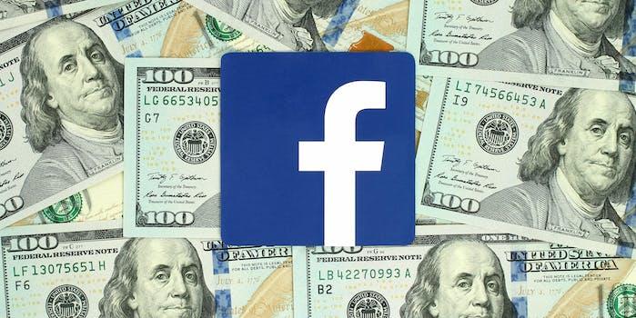 facebook social media money