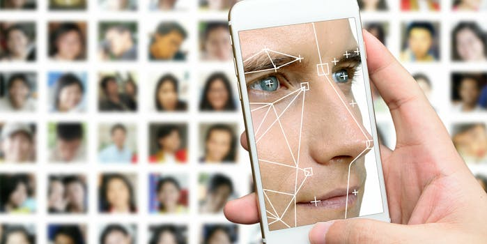 facial recognition smartphone privacy