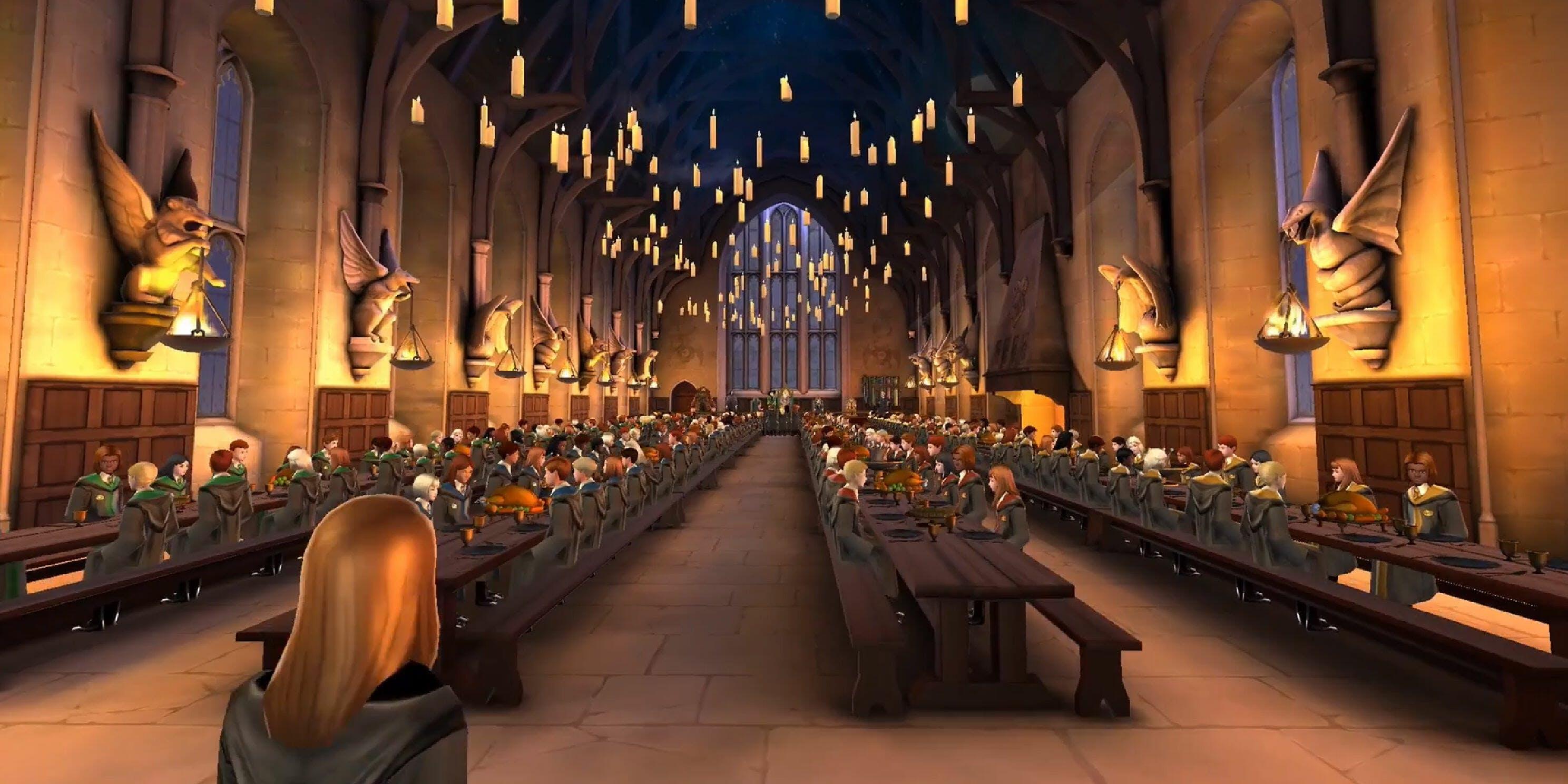 Harry Potter Hogwarts Mystery Grand Hall