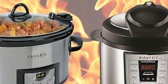 crock-pot vs instant pot