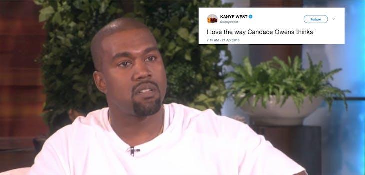 Kanye West Candace Owens