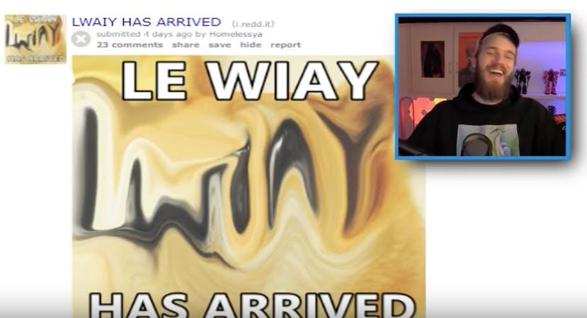 le waiy has arrived doge meme