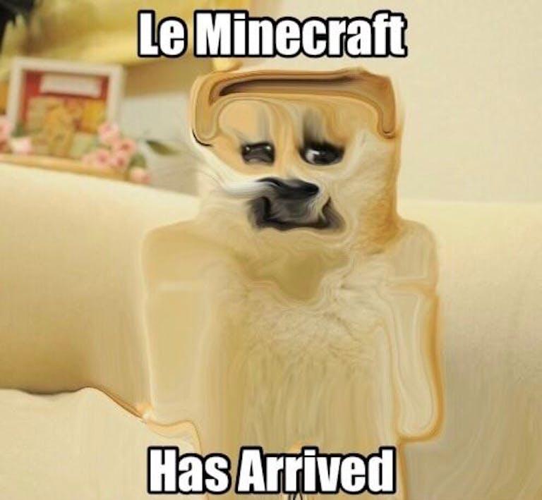 minecraft doge meme