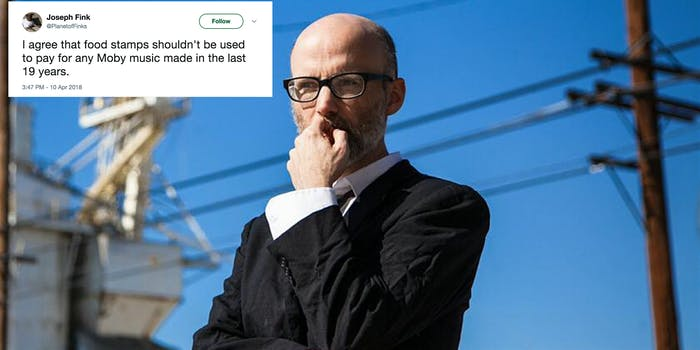 Moby SNAP Twitter
