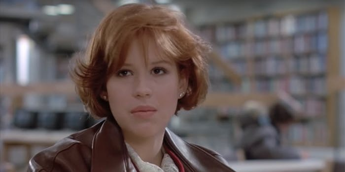 Molly Ringwald analyzed John Hughes' films in light of the #MeToo movement.