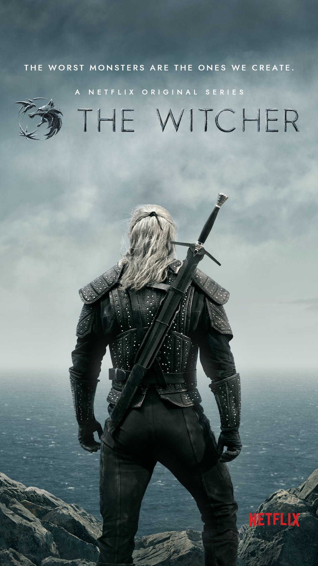 netflix the witcher poster