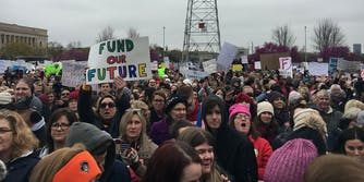 People striking to fund education in Oklahoma
