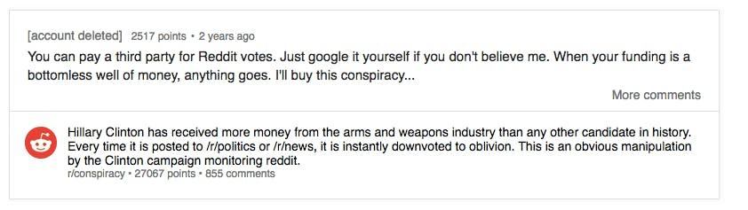 r conspiracy