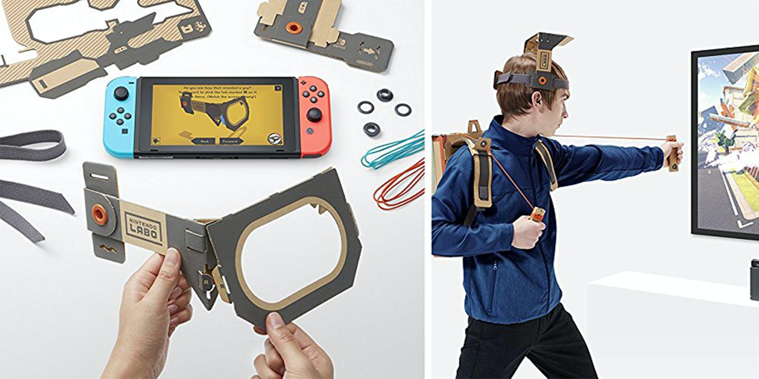 Nintendo switch release April