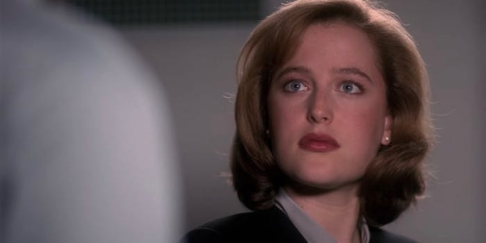 dany scully x-files