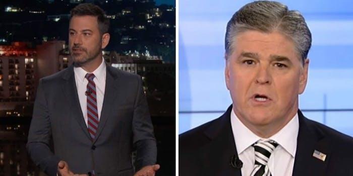 Sean Hannity Jimmy Kimmel
