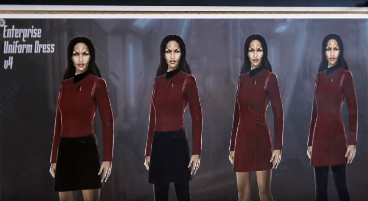 star trek discovery uniforms season 2