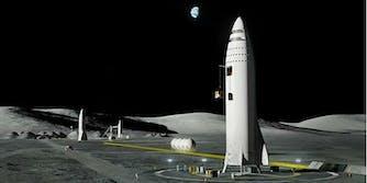 spacex bfr big fucking rocket