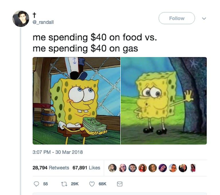 spongebob memes : tired spongebob