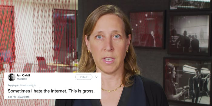 People 'joked' about killing YouTube CEO Susan Wojcicki amid news of an active shooter at the YouTube headquarters.
