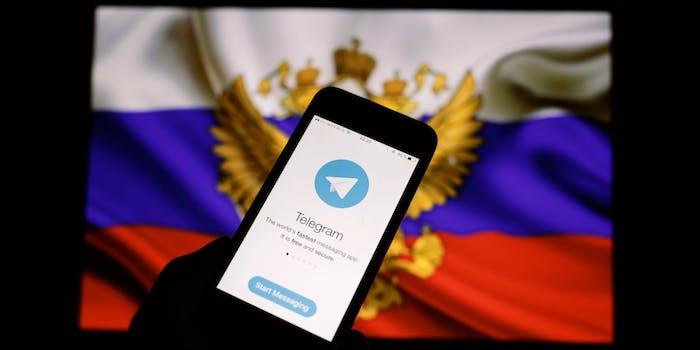 telegram encrypted instant messaging app russia