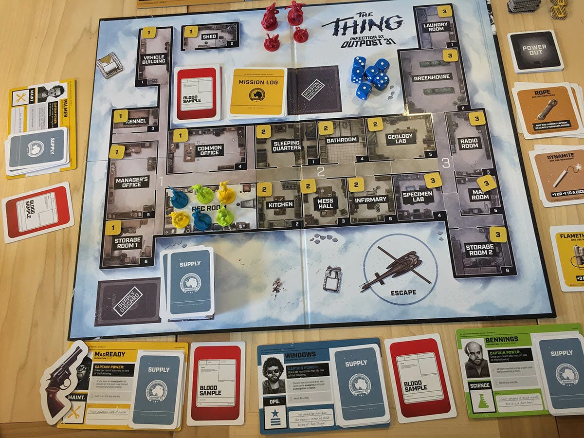 the thing board game whole game