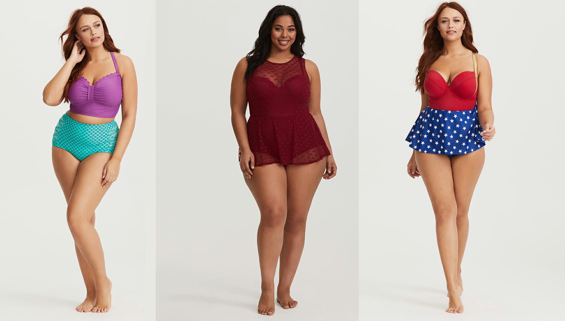 wimsuits for plus size women