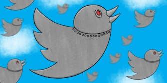 Robotic Twitter birds in flight