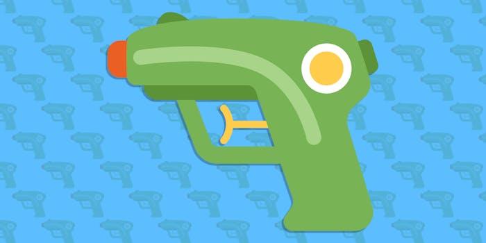 Twitter gun emoji