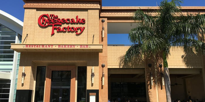 Right-wing Twitter users are boycotting The Cheesecake Factory after one restaurant allegedly teased a customer wearing a MAGA hat.