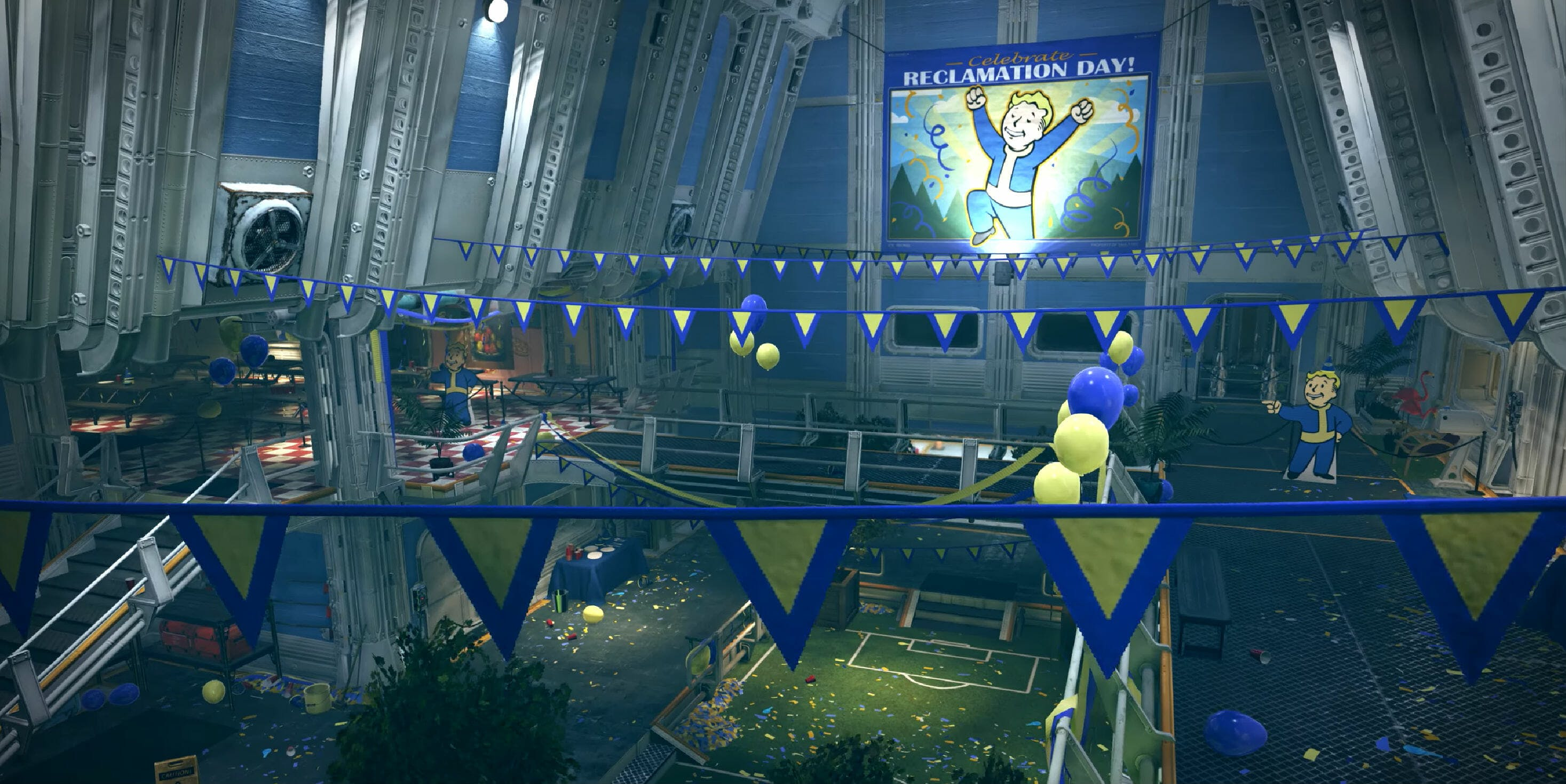 Fallout 76 : Inside Vault 76 on Reclamation Day