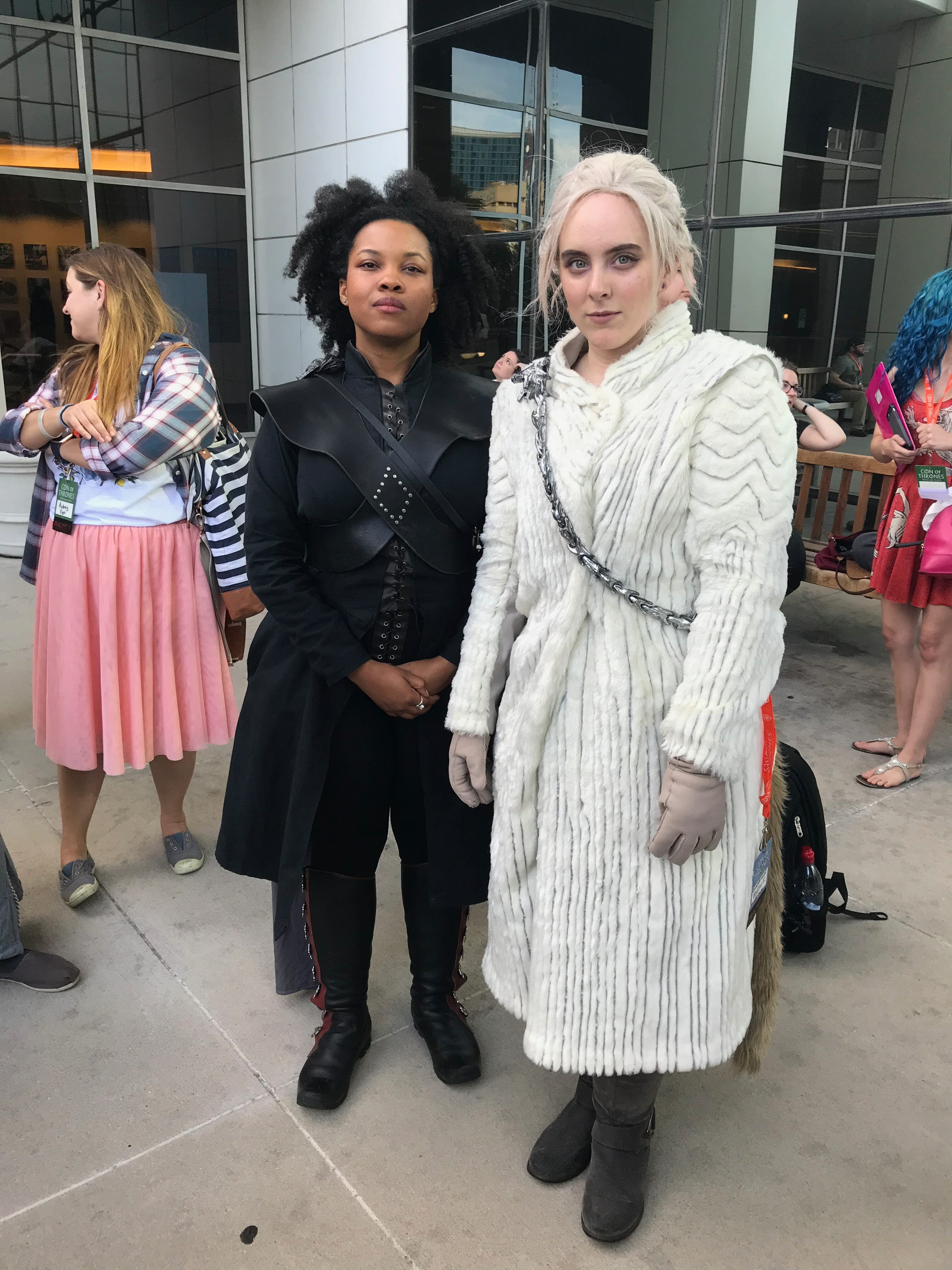 game of thrones cosplay - con of thrones missandei daenerys