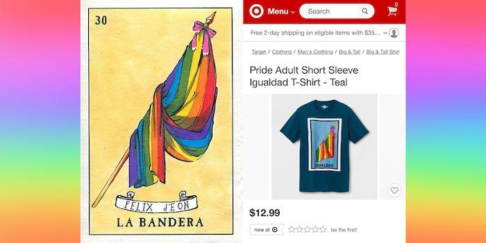 Target steals LGBTQ+ shirt from artist Félix D'Eon