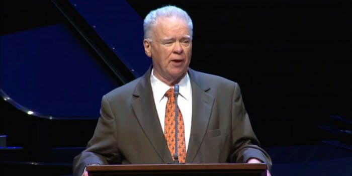 Paige Patterson, seminary president and former denominational president of the Southern Baptist Convention.