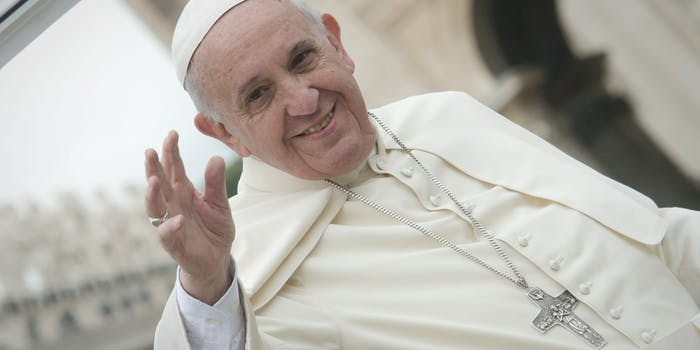 A gay man claims Pope Francis said God 'made you this way.'