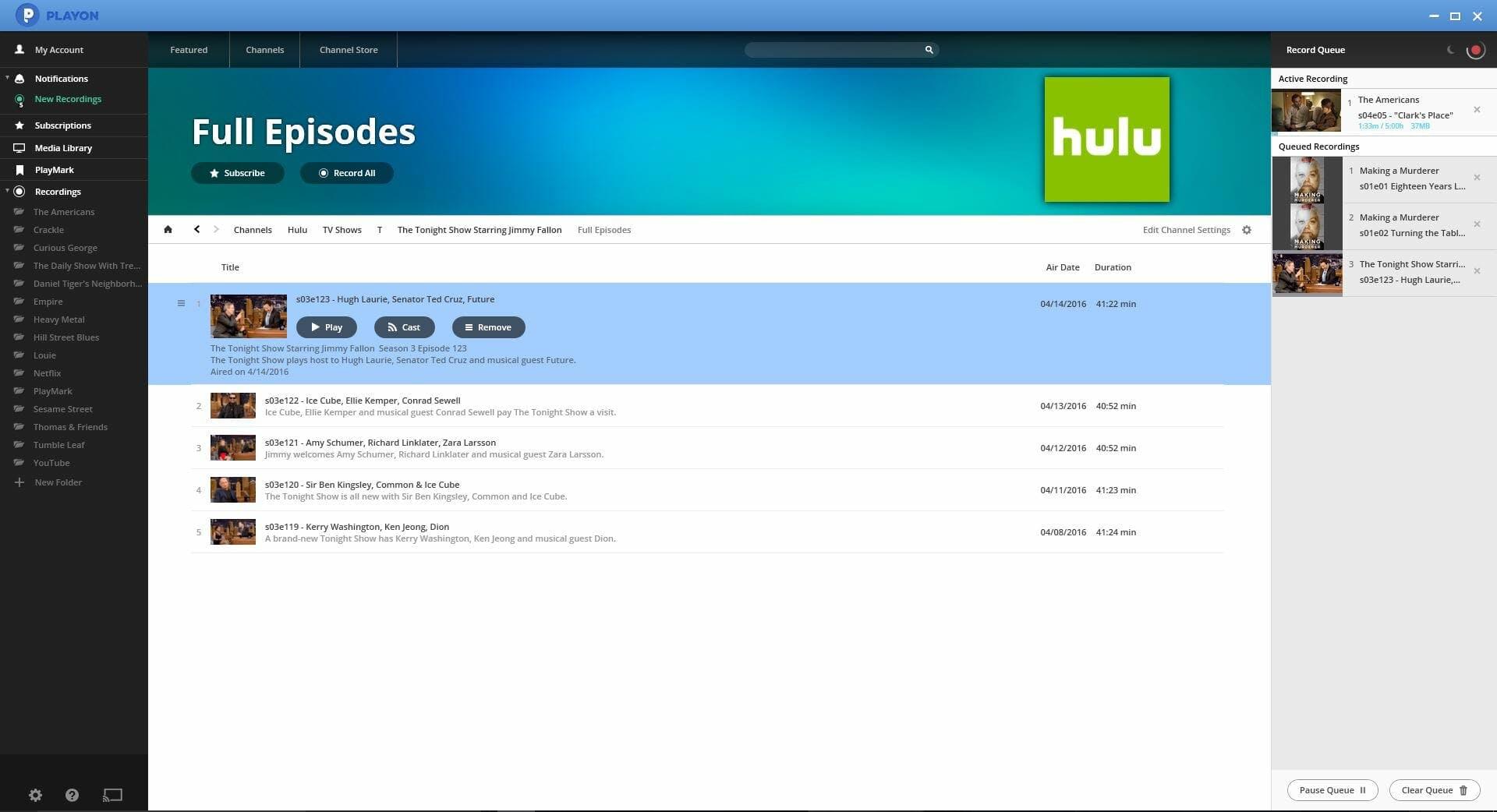 how to watch hulu offline: PlayOne