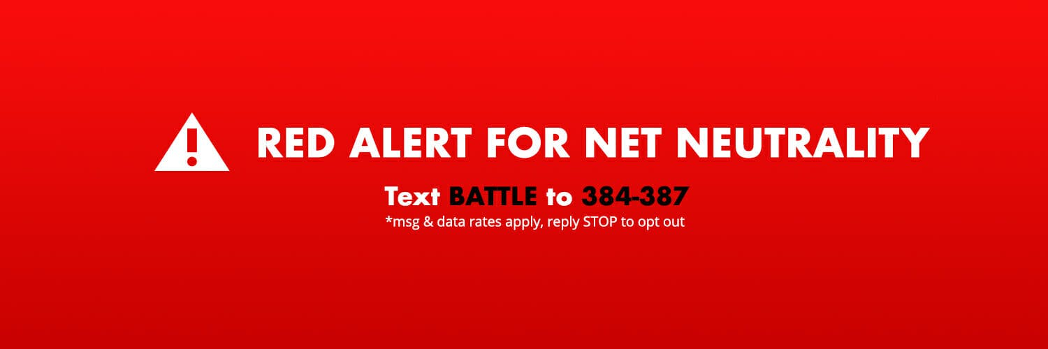 Net neutrality activists are planning a 'Red Alert' protest as Congress begins its CRA efforts.