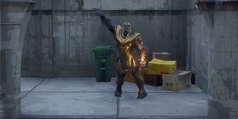 Thanos Fortnite Battle Royale